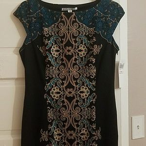 Maggy London Size 10 knit dress